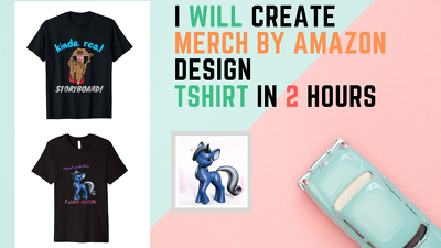 Create Merch By Amazon Design With Keywords In 2 Hours