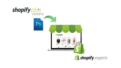 Convert PSD into Shopify Store Fully Responsive