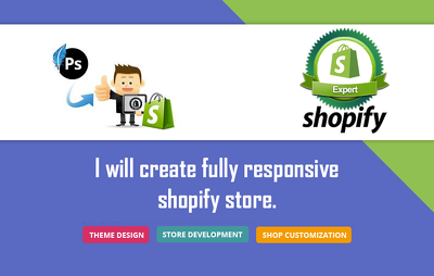 Create shopify store from scratch