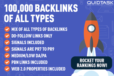 Premium Link Building - 100000+ Links, Signals & Video Marketing