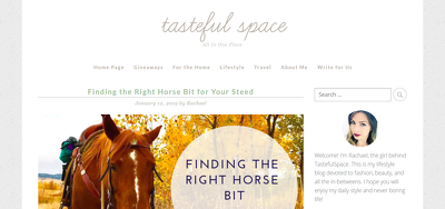 Add Guest post on TastefulSpace.com - DA55