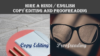 Copy editing and proofreading  3000 words