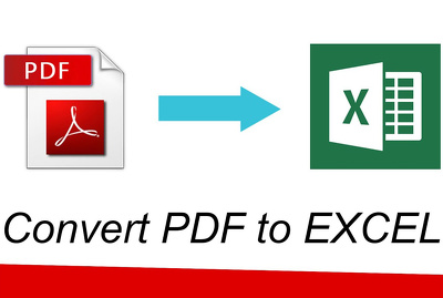 Manually type 15 pages of PDF file into EXCEL or MS WORD
