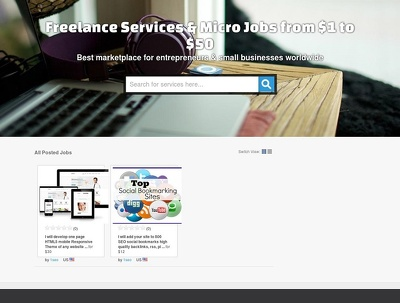 Design your own highly profitable micro jobs marketplace
