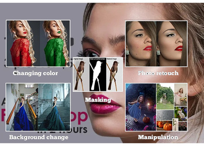 do High Quality 1 Photo Retouch or clone with unlimited revision