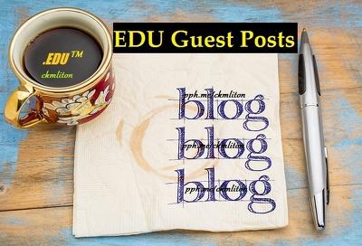 10 EDU Guest Posts Dofollow DA90 Dofollow