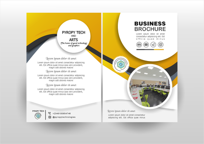 Design Business Flyers and Brochures with unlimited revisions