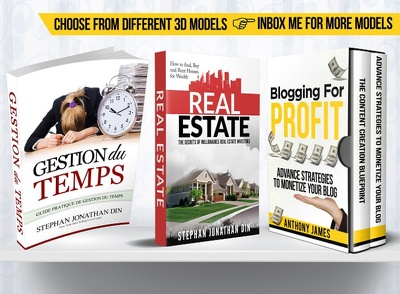 Design Ebook Cover, 3d Ebook Cover In 24hours