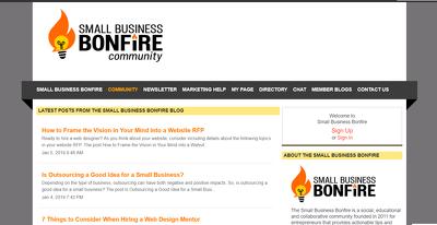 Write and Publish on SmallBizBonfire.com