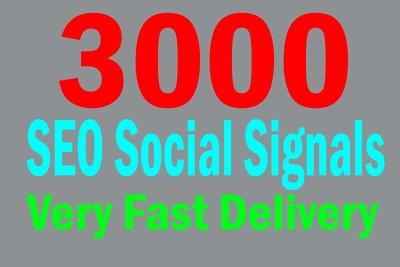 Provide 3000 Mixer Social Signals