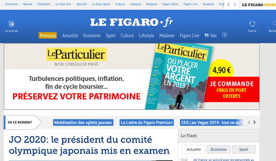 Publish a guest post on LeFigaro - Lefigaro.fr