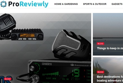 Guest Post on Home Outdoor Sports Technology Proreviewly.com