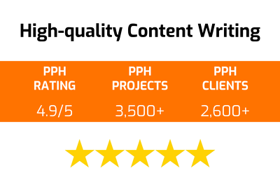 Provide high-quality content writing