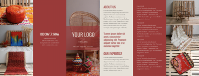 Design a tri-fold brochure in a day