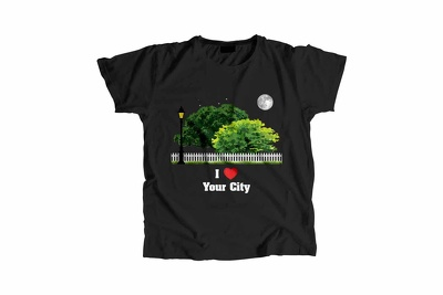 Design your city Men's T-Shirts Print Shipping