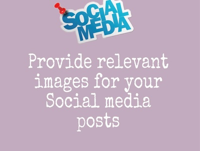 Provide 10 relevant images for Social Media