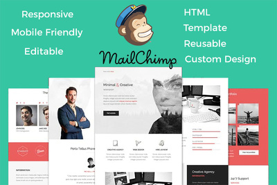 Mailchimp Html Responsive Email Template