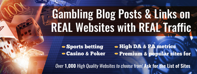 Guest Post on DA50+ Sites Gambling | Casino | Sports | Betting