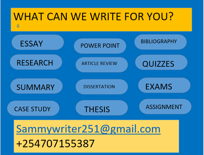 Research and write 500 words academic paper