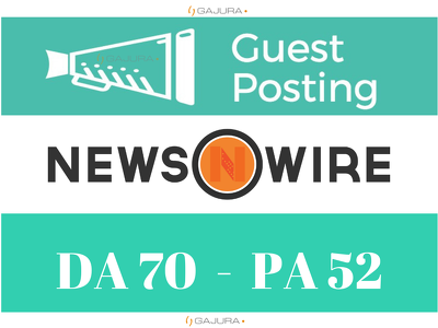 Publish Guest Post on Newswire - Newswire.net DA70 PA 52