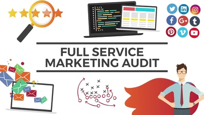 Do a complete marketing audit of your business
