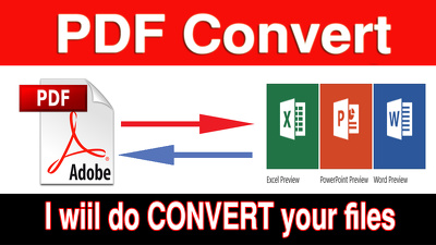 30 PDF  files convert within 2 hours
