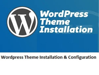Install & configure any Word Press theme to your website