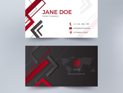 Make Professional Business Card Design In 12 hrs