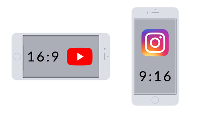 Convert any video to 9:16 vertical portrait format for Instagram