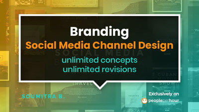 Design and brand your entire range of Social Media channels