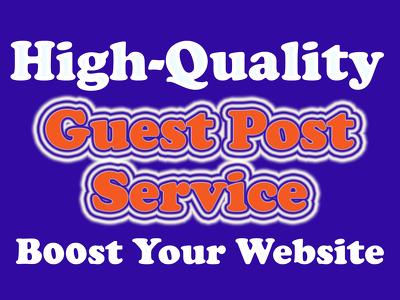 Write & guest post 10.EDU AND 10 General DA35+ TF20+ CF20+ Blog