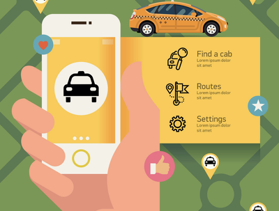 Develop taxi application with admin panel like UBER