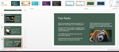 Create Powerpoint presentations