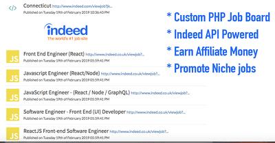 Create a custom job board website in PHP code igniter in 2 days