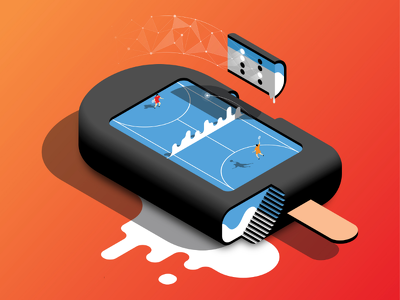 Create amazing 3d Isometric Vector Illustration