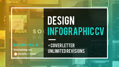Design Infographic Resume, CV and Cover Letter