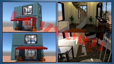 Make 3d floor plan and rendering in sketchup in 4 hours