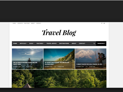 Write and guest post on Travel Blog