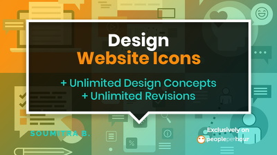 Design your website icons