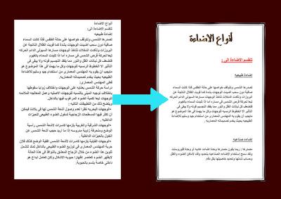 Formatting  30 pages Arabic or English (Microsoft Word)