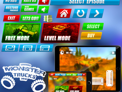 Design Game Graphics,Game Design And Game Logo
