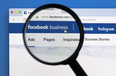 Setup or create a professional facebook business page