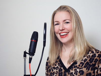 Record a professional British female voiceover for your video