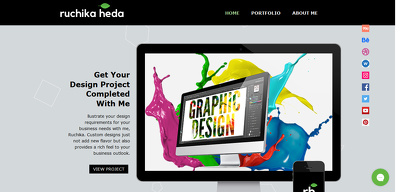 Designs graphics and layouts on 10$/hr