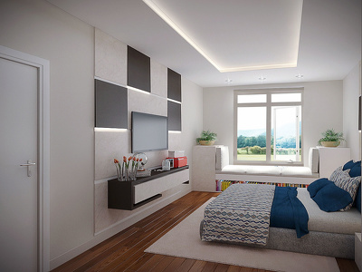 Create high quality & realistic interior 3D rendering