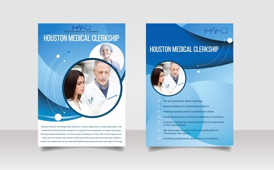 Design Flyer Brochure Banner or Poster within 15 hrs
