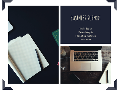 Business support with data analysis/web design/research for 1h