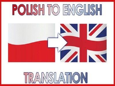 Translate content from Polish to English per page (450 Words)