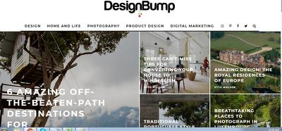 Guest post on Designbump.com DA  63 Tech Design Blog