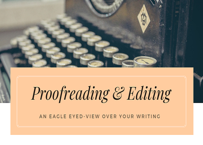 Proofread, Edit and Sharp up to 1000 words